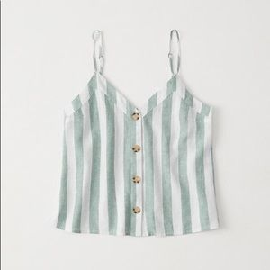 Abercrombie and Fitch Button-Up Cami
